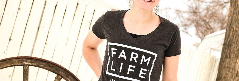 Farm Life Box 3.0 Ladies V-Neck
