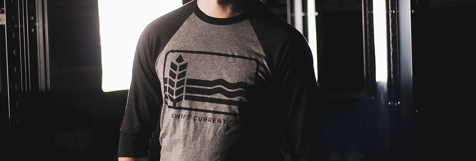 Retro Swift Current Logo - 3/4 Sleeve