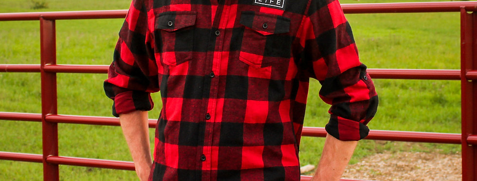Woven Plaid Flannel