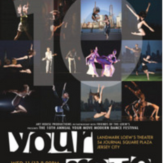 CONSONANCE was selected for the 10th Annual Your Move Modern Dance Festival in November 2019.