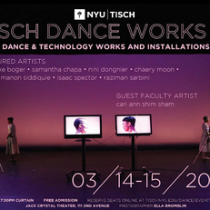 CONSONANCE premiered at the NYU Tisch Dance Works Concert in March 2019.