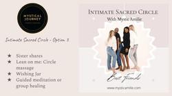 Intimate Sacred Circle - Option 3