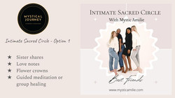 Intimate Sacred Circle - Option 1
