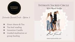 Intimate Sacred Circle - Option 2