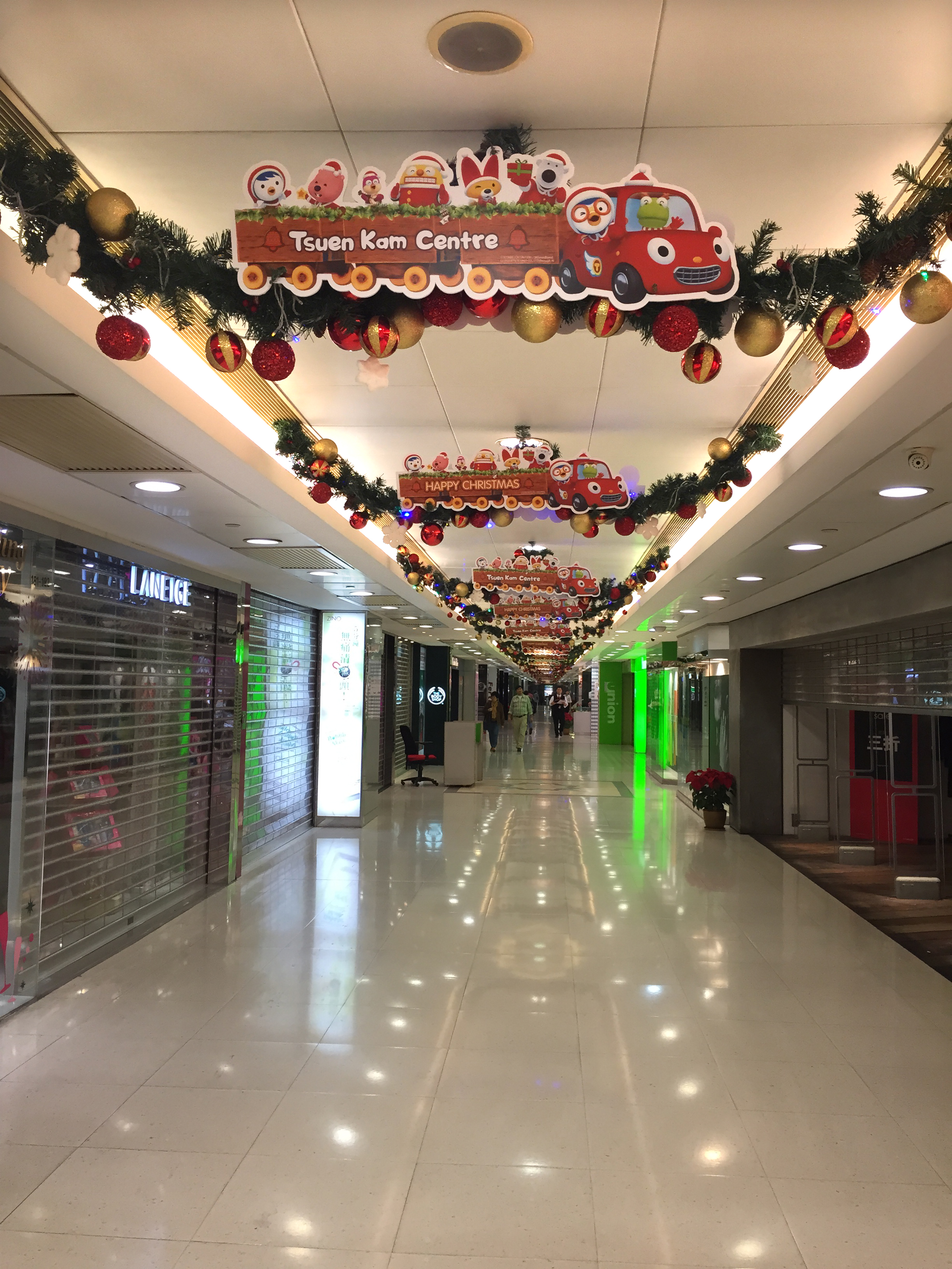 Shopping Mall Xmas Deco