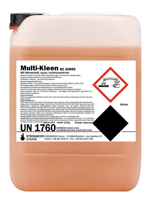 Multi-Kleen 33kg. sauer