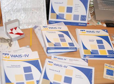 Le test de Quotient Intellectuel, petit point sur la WAIS 4 (utilisée au centre)