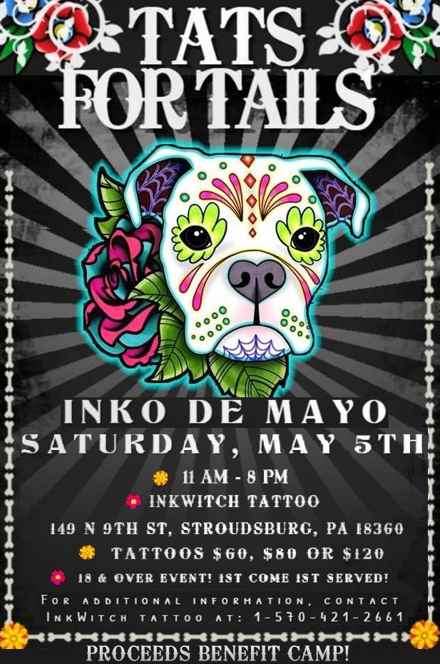 Tats For Tails is coming!