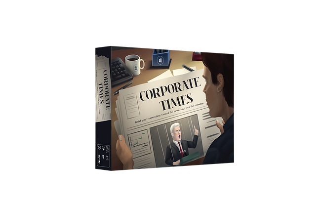 Corporate Times–a financially strategic board game