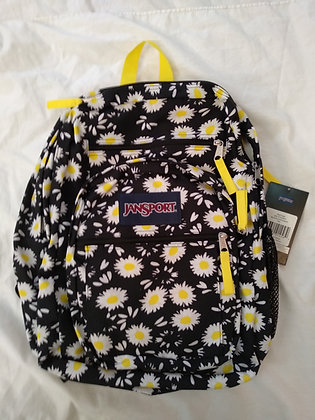 תיק גב ג'נספורט JANSPORT BIG STUDENT FLOWERS