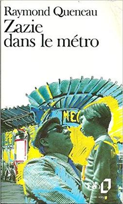 zazie dansle métro de Raymond Queneau