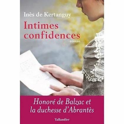 Intimes confidences d'Inès de Kertanguy