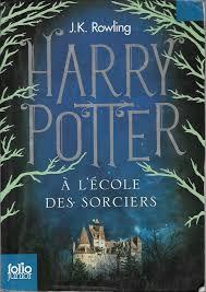 Harry Potter à l'école de sorciers de JK ROWLING