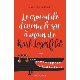 Le crocodile devenu le sac à main de Lagerfeld de DEMAY