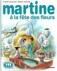 Martine à la fête des fleurs de DELAHAYE