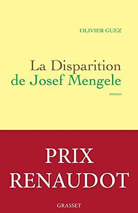 La disparition de Josef Mengele de GUEZ