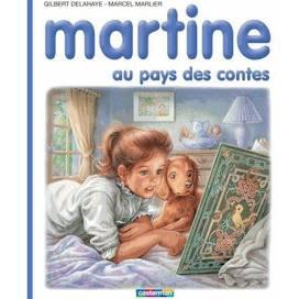 Martine au pays des contes de DELAHAYE
