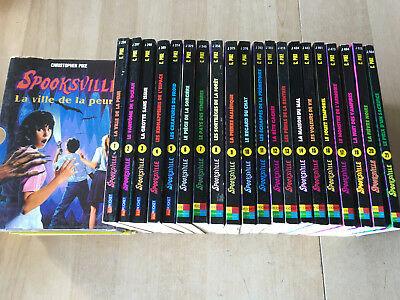Collection SPOOKSVILLE du tome 6 au tome 14