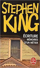 Ecriture mémoires d'un métier de STEPHEN KING