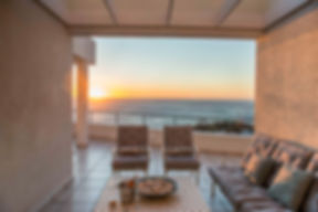 Bay Reflections Penthouse sunset - enjoy with glass of wine