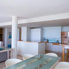 Open plan kitchen in Luxury Apartment