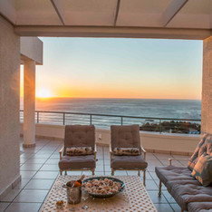 Enjoy spectacular sunsets on your privat