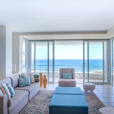 Lounge with a view in the Luxury Apartme