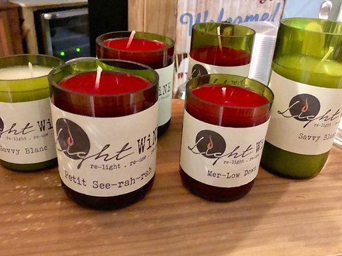Light Wine Candle - Small