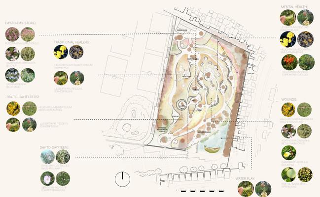 The Healing Garden: Gradient Mapping