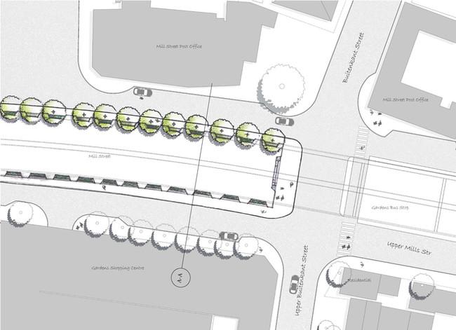 Garden Centre Bridge Sketch Plan