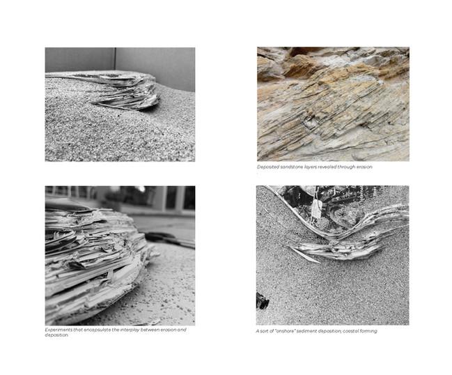 The Interplay between Erosion + Deposition