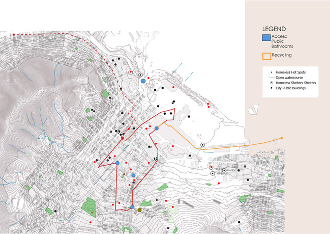Mapping Homeless Activities