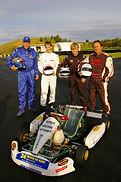 The Team Simon Rudd, Joe Flay, Russell Crowe and Tom Huxtable.