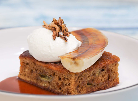 Noble House At Home Recipes – Banana Bread with Salted Caramel Toffee Sauce