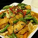 Pan-Fried Cod Chu Chi