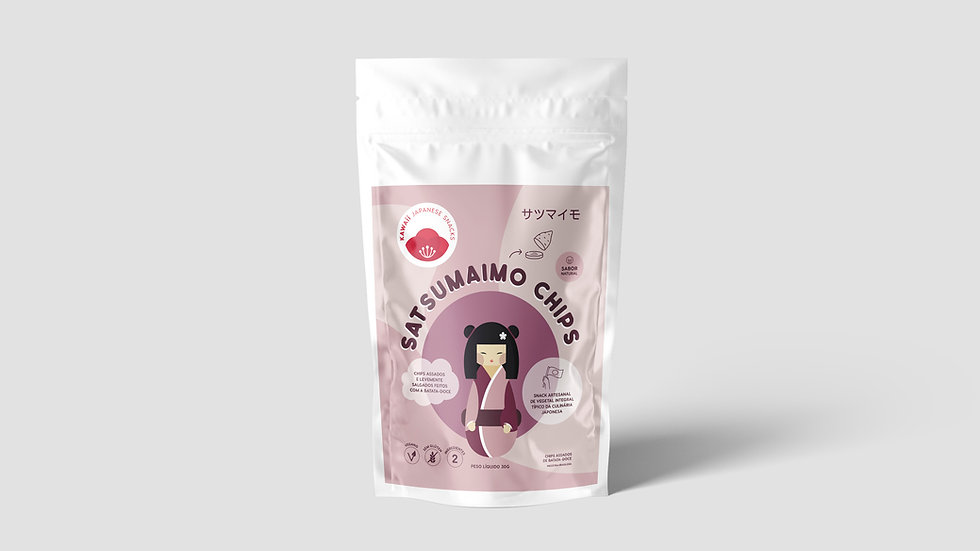 SATSUMAIMO CHIPS 50g • 01 PACK