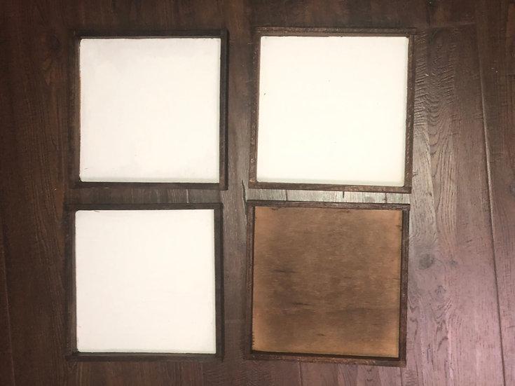 "Blank 9.5"" wood"