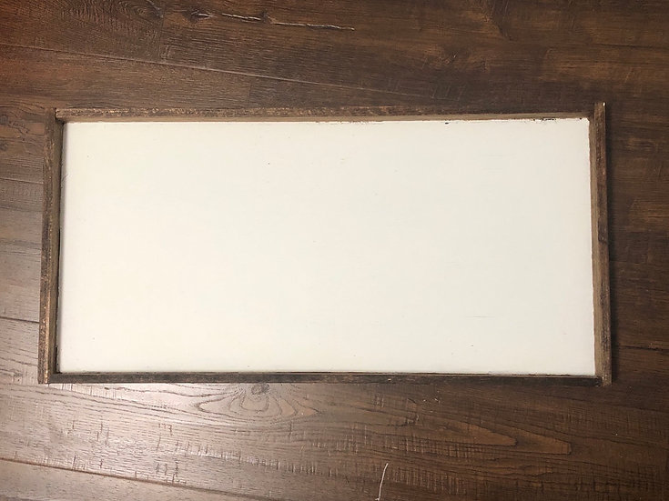 Wooden sign 23.5 long 11.5 wide