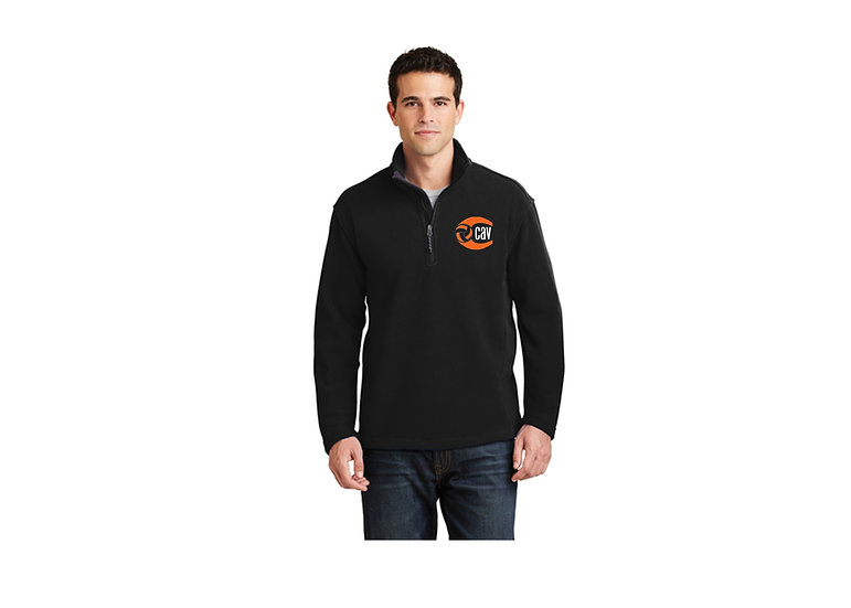 Port Authority 1/4 zip Fleece