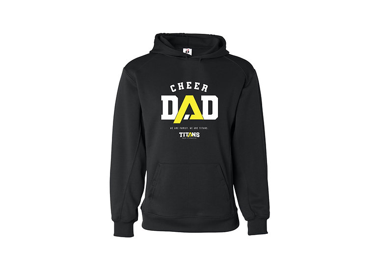 Cheer Dad Hoodie-Badger Brand