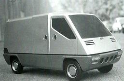 Renault Master Gandini design