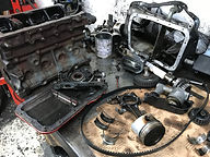 Integrale engine stripped