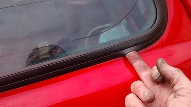 Lancia delta screen rubber