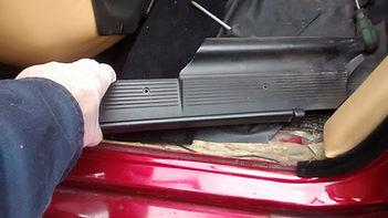 Lancia delta sill cover