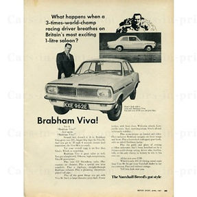 Brabham Viva advert