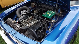 lancia fulvia  engine