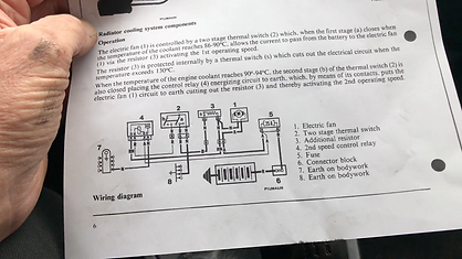 Lancia cooling wiring diagram