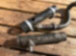 Lancia Delta rear hoses