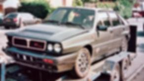 Lancia Delta 8 valve crashed