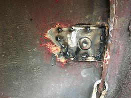 welding lancia seat belt